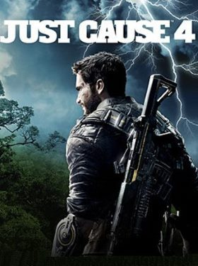 Just Cause 4 box cover