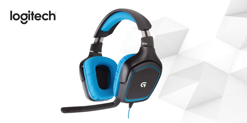 Logitech G430 Gaming Headset for PC Gaming with 7.1 Dolby Surround