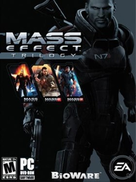 Mass Effect Trilogy cover box