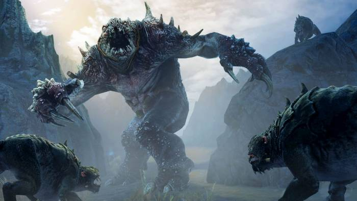 Middle-earth Shadow of Mordor Monsters