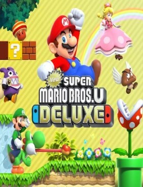 New Super Mario Bros. U Deluxe box cover
