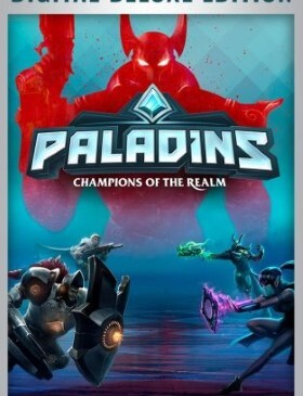 Paladins Champions of the Realm box cover