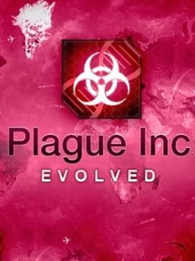 Plague Inc Evolved box cover