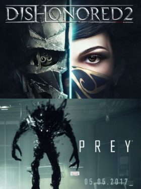 Prey + Dishonored 2 Bundle box cover