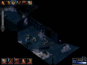 Graphics in Elemental Evil Temple game