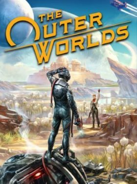 The Outer Worlds box cover
