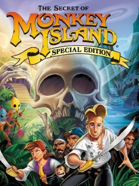 The Secret of Monkey Island Special Edition box cover