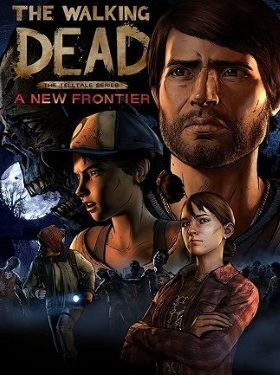 The Walking Dead A New Frontier box cover