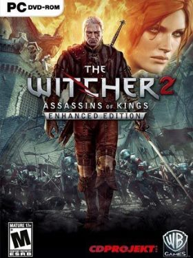 The Witcher 2 Assassins of Kings box cover
