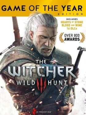The Witcher 3 Wild Hunt Game of the Year Edition GOTY cover