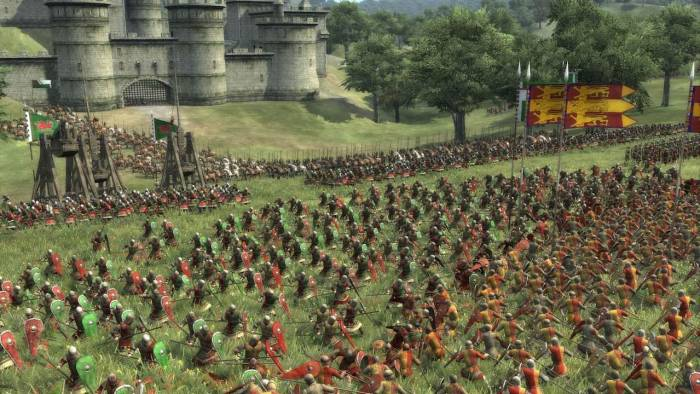 Total War Medieval II battle fight
