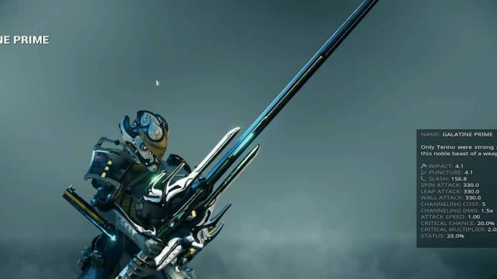 warframe sword