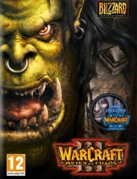 Warcraft 3 Gold Edition box cover
