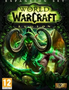 World of Warcraft Legion box cover