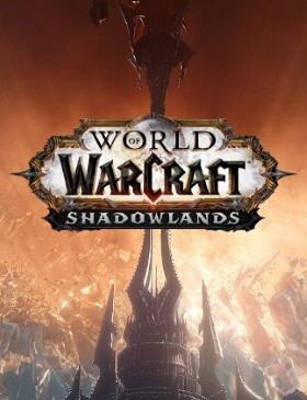 World of Warcraft Shadowlands box cover