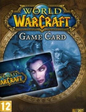 World of Warcraft Time Card 30 Days box cover