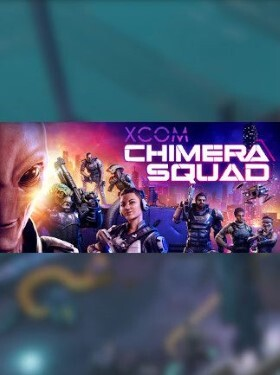 XCOM Chimera Squad cover box