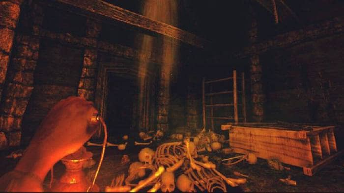 Amnesia: The Dark Descent - gameplay