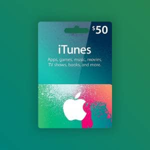 Apple iTunes Gift Card 50 USD United States