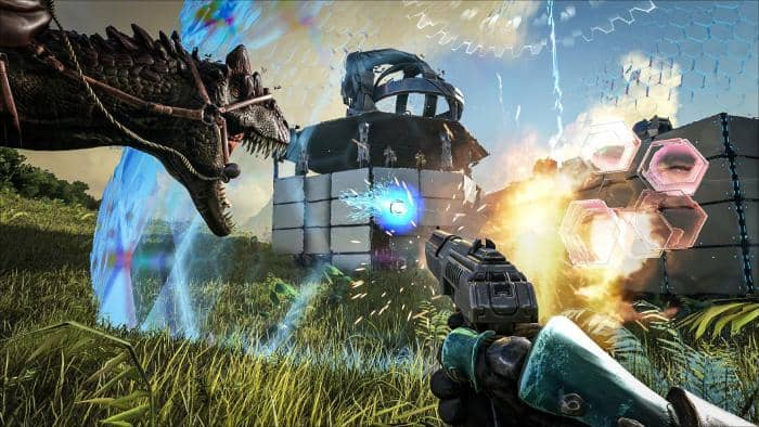 ARK: Survival Evolved - fight