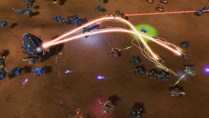 Ashes of the Singularity: Escalation - fighting