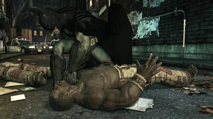 Batman: Arkham Asylum - gameplay