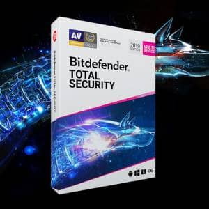 Bitdefender Total Security 2020 (5 Devices, 1 Year)