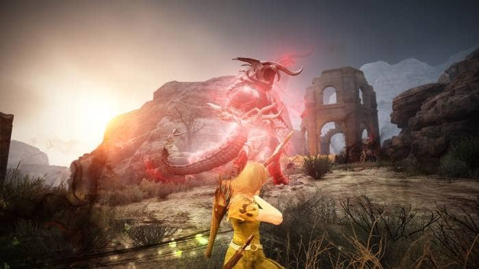 Black Desert Online - gameplay