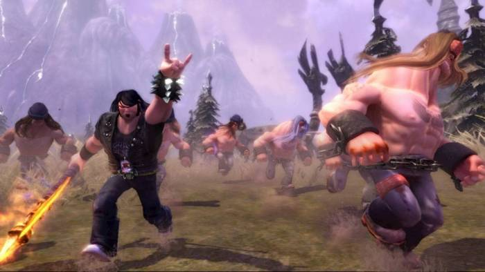 Brutal Legend game screenshot
