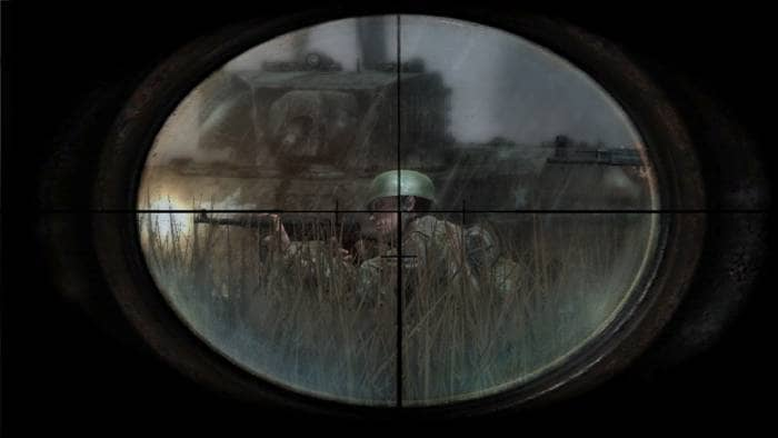 Call of Duty 3 - sight