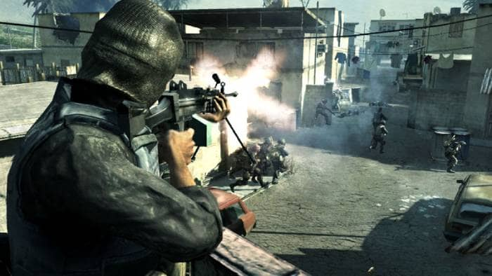 Call of Duty 4: Modern Warfare gameplay