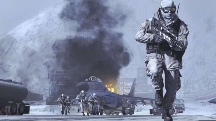 Call of Duty: Modern Warfare 2 - helicopter