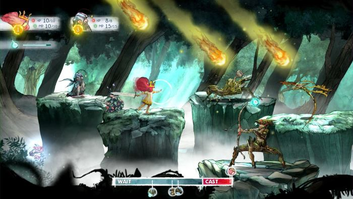 Child of Light - fighting