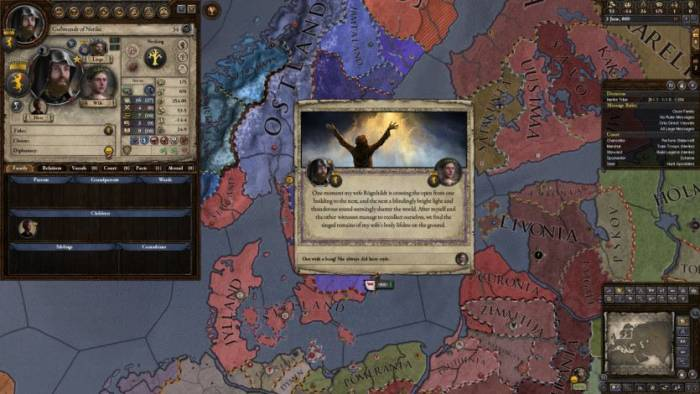 Crusader Kings II game screenshot