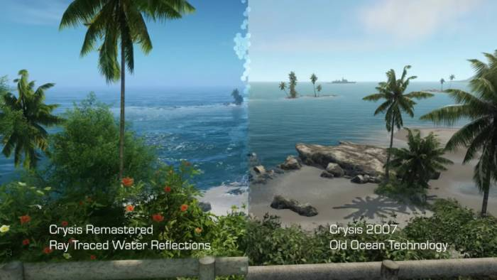 Crysis Remastered graphic comparision