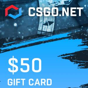 CSGO.net Gift Card UNITED STATES 50 USD