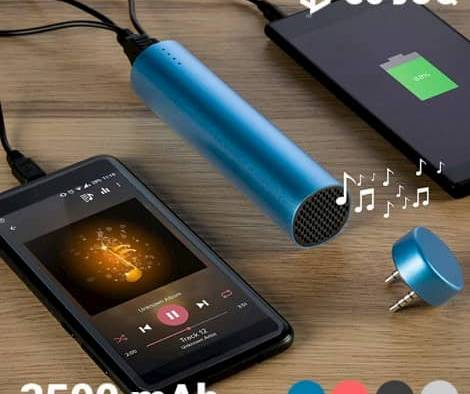 CuboQ – Powerbank with Speaker