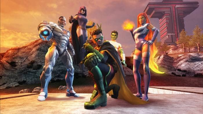 DC Universe Online - the main characters
