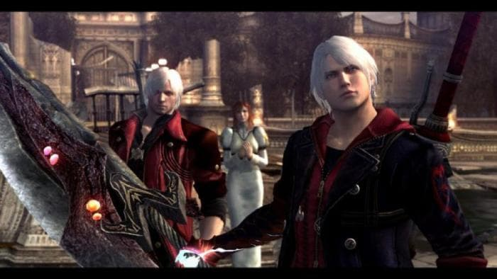 Devil May Cry 4 - the main characters