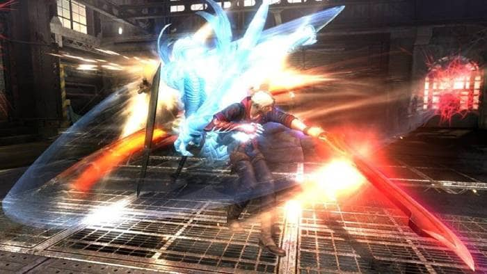 Devil May Cry 4 Special Edition - fighting with the lighting