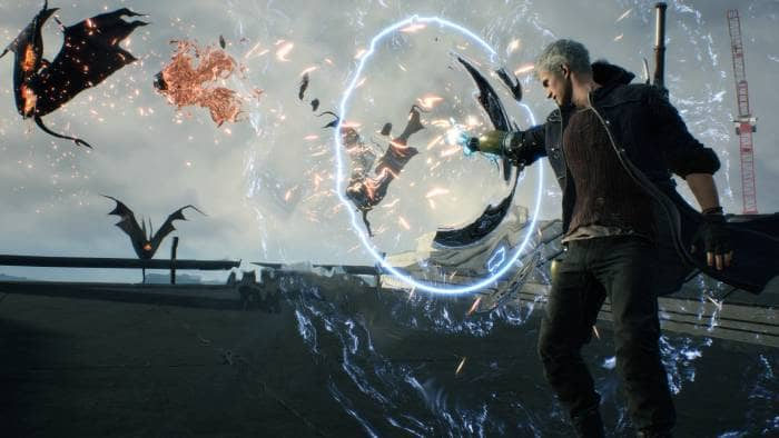 Devil May Cry 5 - protagonist