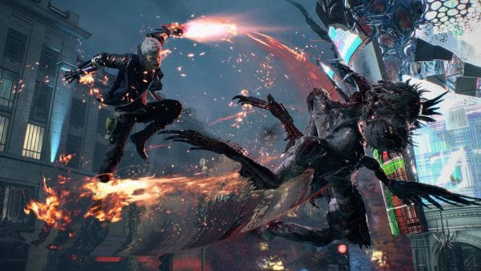 Devil May Cry 5 - fighting