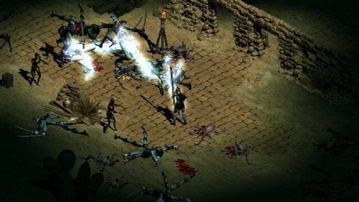 Diablo 2 - fighting