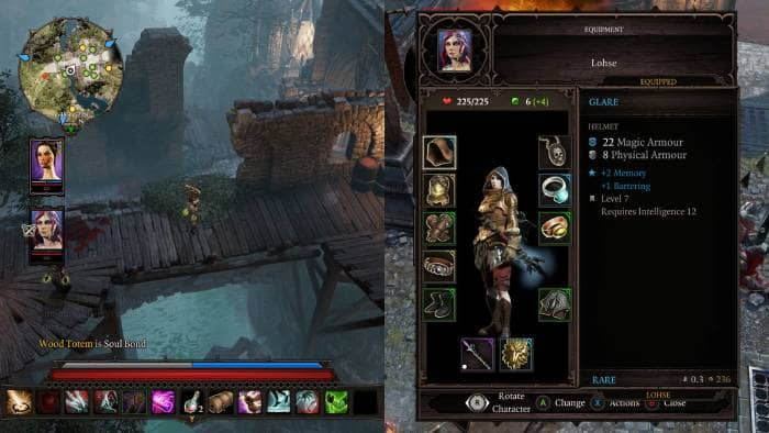 Divinity: Original Sin 2 - description of the protagonist