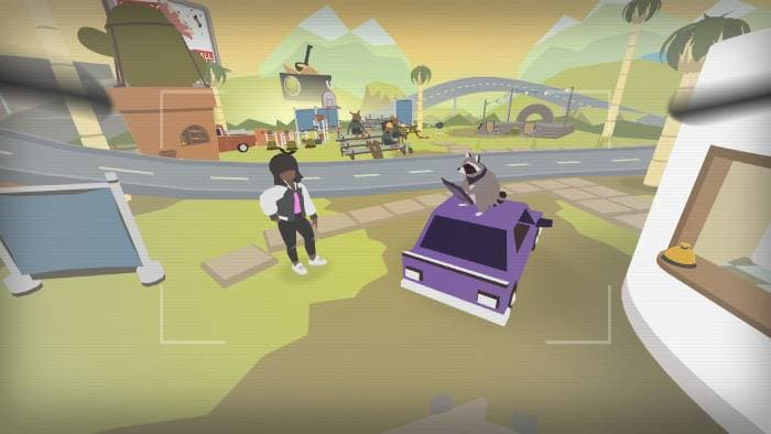 Donut County - gameplay