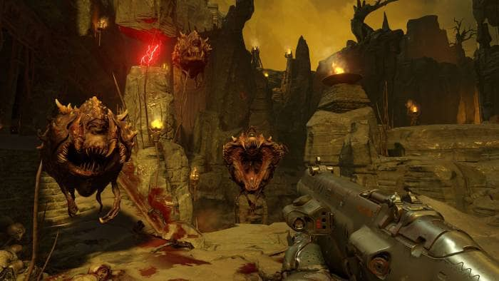DOOM - gameplay