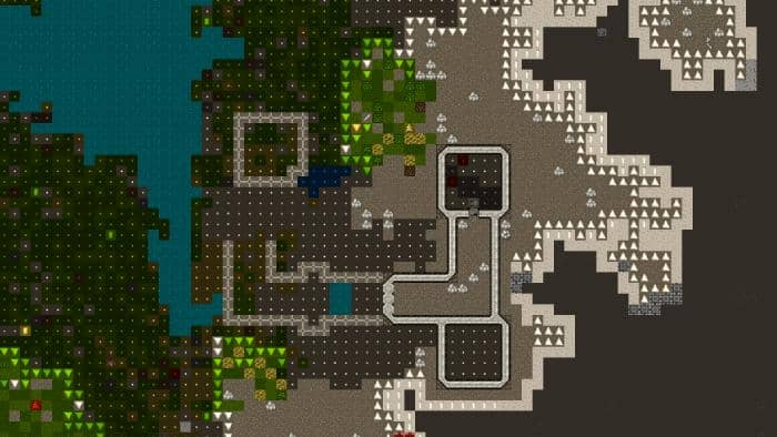 Dwarf Fortress game