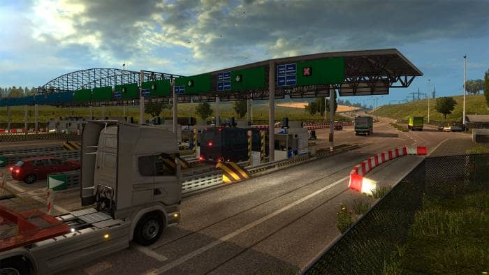 Euro Truck Simulator 2 - gameplay