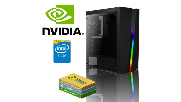 Gaming PC with i3 9100F and GTX 1050Ti