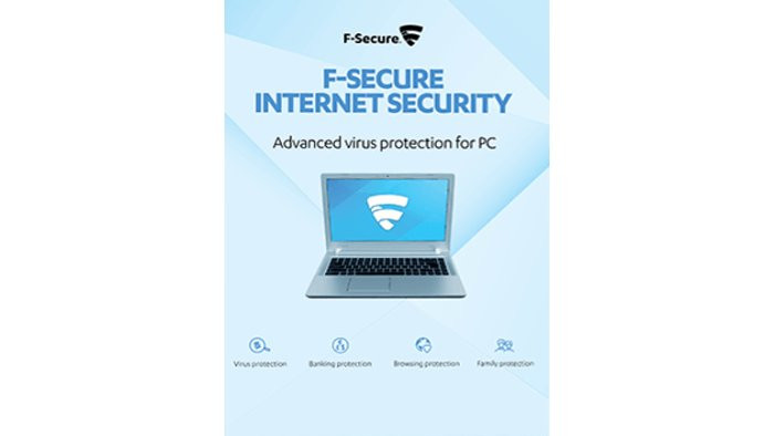 F-Secure Internet Security 1 User 1 Year